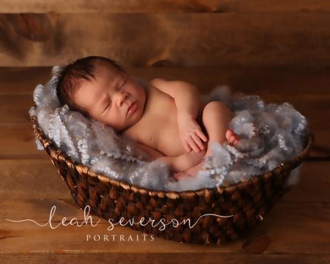 newborn baby sleeping photography indianapolis