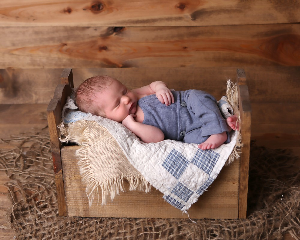 newborn baby boy photograph