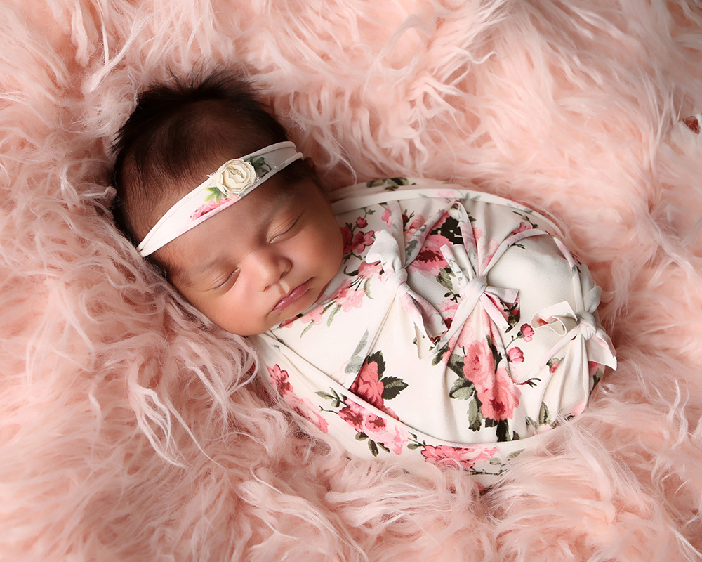 baby-wrapped-rose-floral-newborn-photography