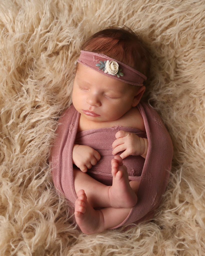 pink-wrap-newborn-baby-photo