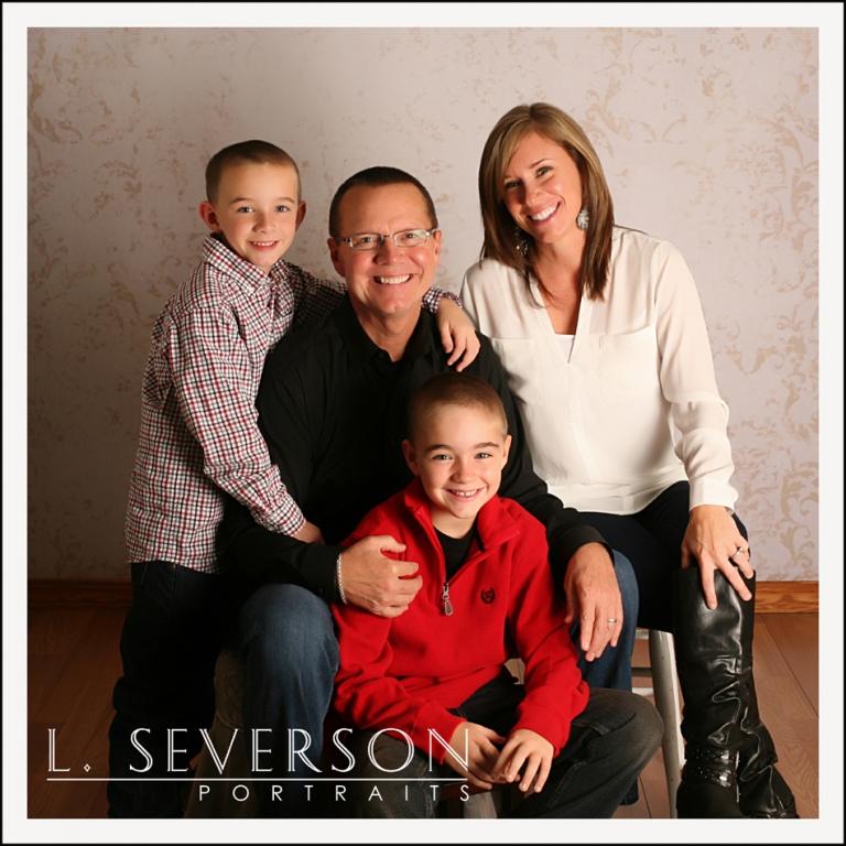 Pam & Mark's Family Portrait