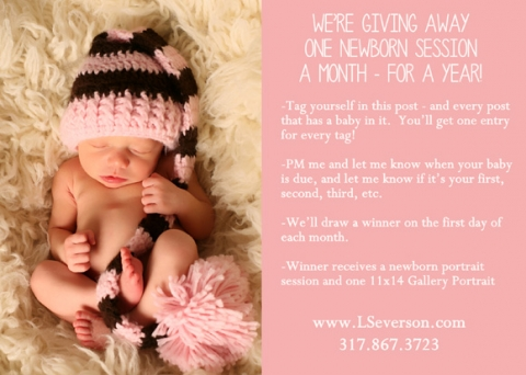 facebook baby portrait contest