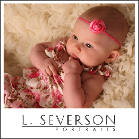 Baby photos of Alexandra in Indianapolis