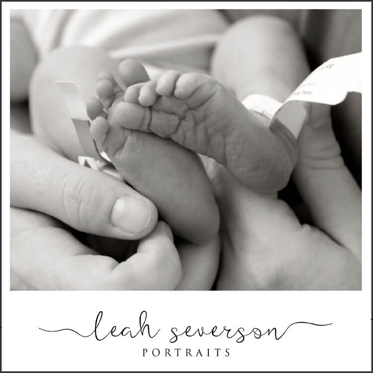 newborn hospital photography