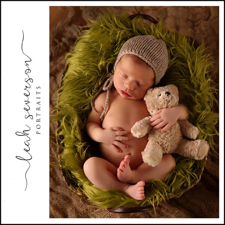 baby photographs of Finn