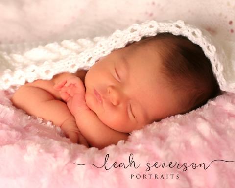 newborn baby halle sleeping