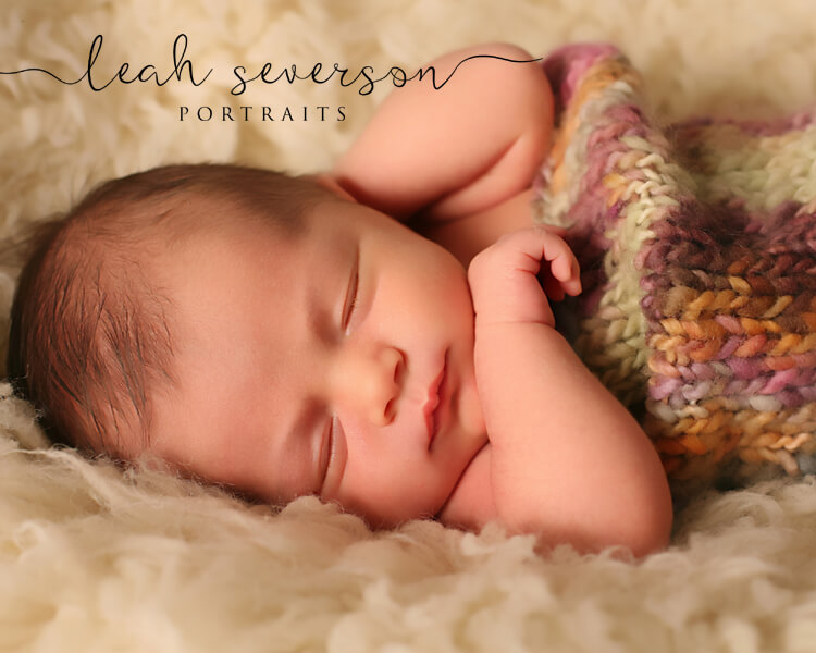 newborn photographer indianapolis picture of halle sleeping