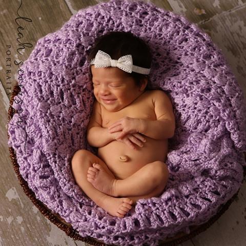 newborn baby smiling in sleep in carmel, in