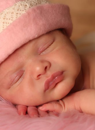 newborn photograph kennedy pink