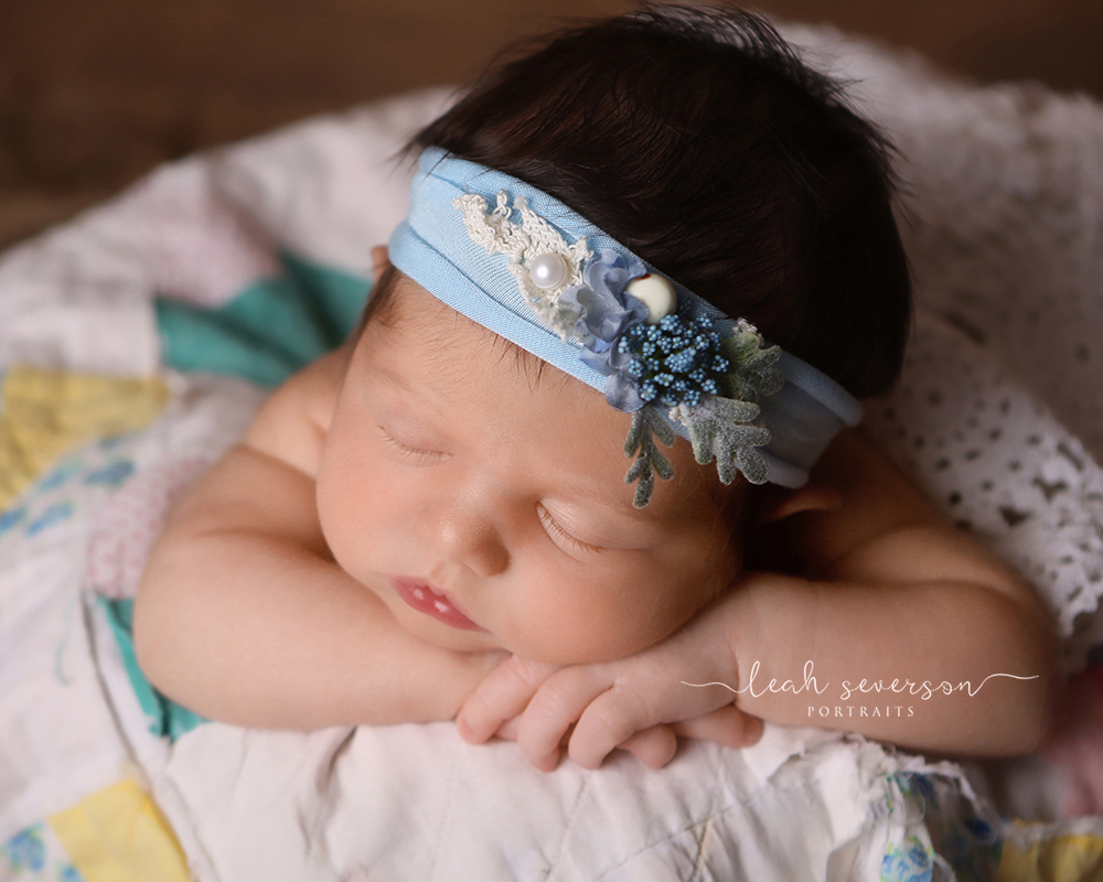 sleeping newborn photoshoot carmel, in