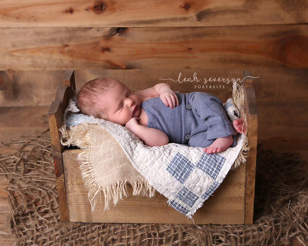 newborn photoshoot carmel indiana baby boy