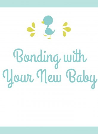 bonding with your newborn baby