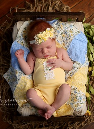 newborn photos of magnolia