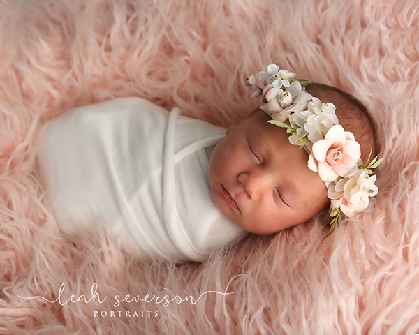 sleeping newborn photography prop indianapolis