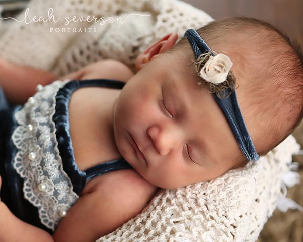sleeping newborn baby photograph indianapolis