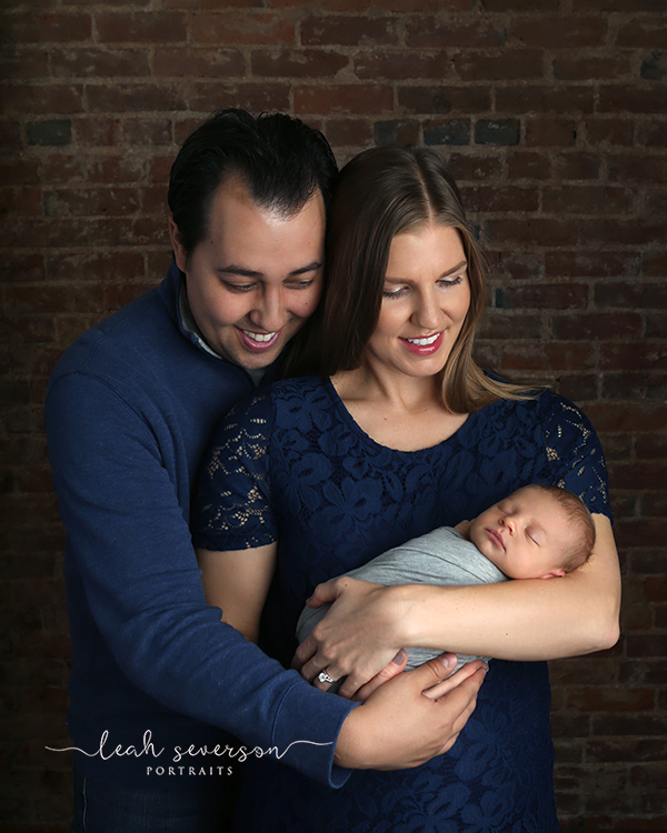 newborn family photography carmel indiana