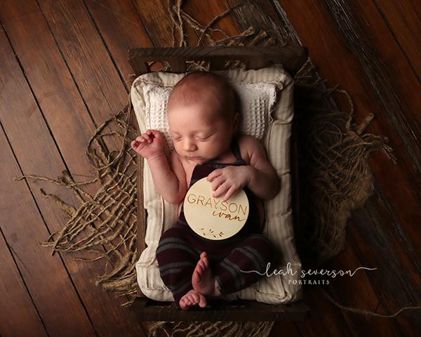 newborn baby photograph carmel indiana