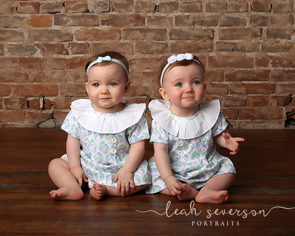 baby twins photography session