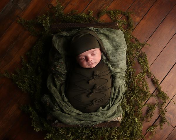newborn baby sleeping indianapolis