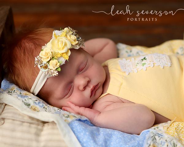 newborn photography carmel indiana sleeping baby