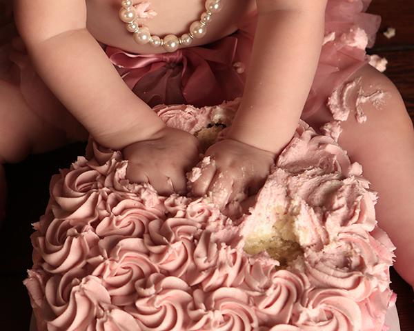 cake smash photoshoot carmel, in