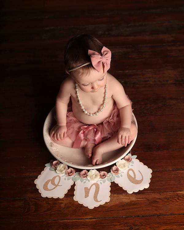 smash cake photoshoot